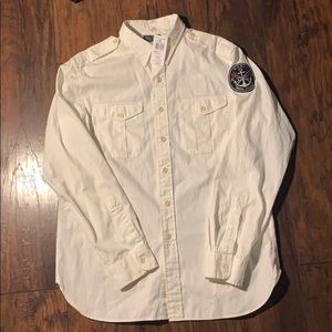 Vintage Polo Naval Service Button Up Longsleeve